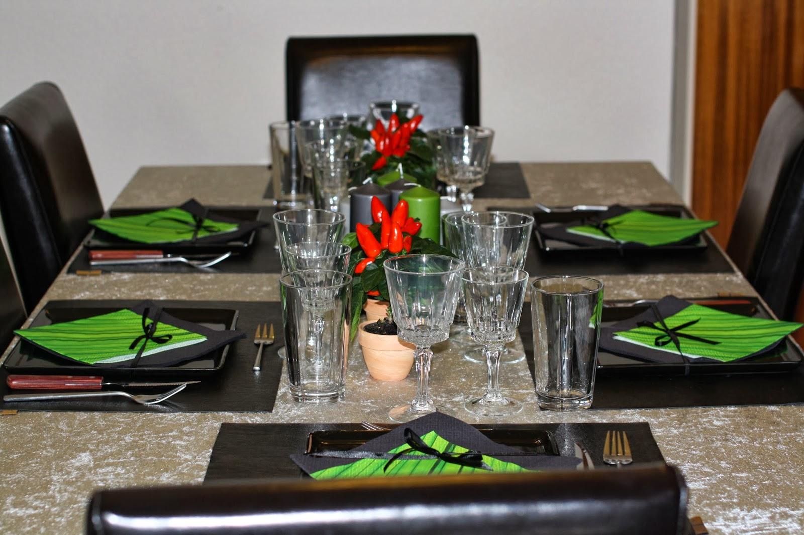 Berdin's køkken: dekoration idé   borddækning !