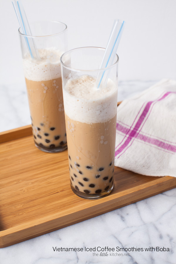 Vietnamese recipes iced coffee smoothie with boba all for California iced tea recipe