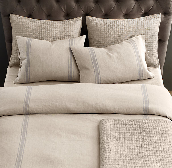 Back where we come from for Duvet covers restoration hardware