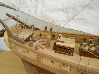 maqueta de modelismo naval Le Renard escala 1:50