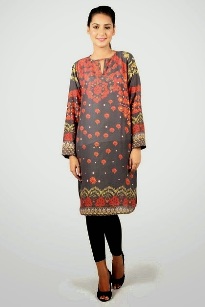 Casual Printed Long Kurti for Women