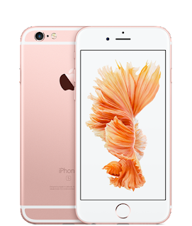 iPhone6s in rose gold