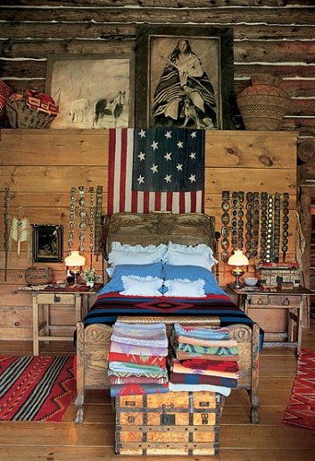 Decor to adore rustic style versus cabin americana for Americana furniture and interiors
