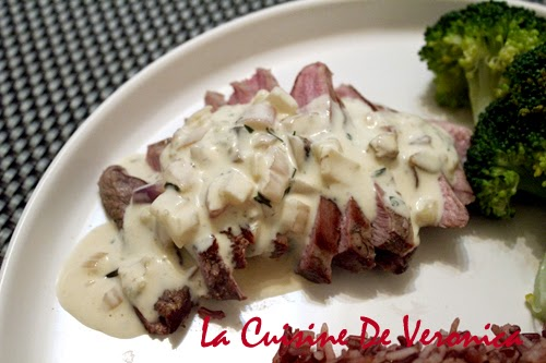 La Cuisine De Veronica Grilled Duck Breast with Diane Sauce