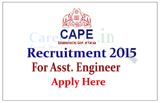 Co-operative Academy of Professional Education (CAPE) Recruitment 2015 Freshers for the post of Assistant Engineer