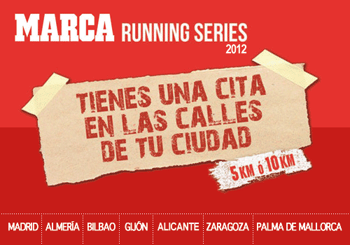 Marca Running Series 2012