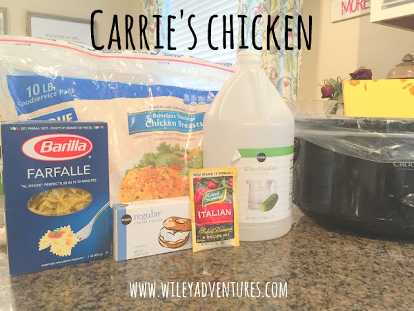 Carrie's Chicken {Recipe}