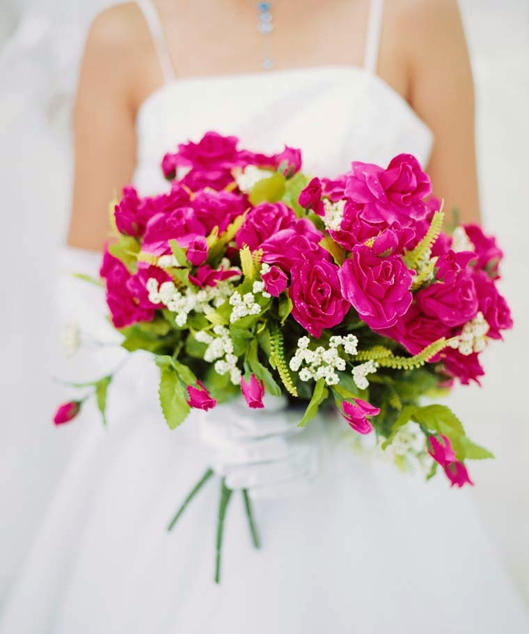 Pink Wedding Flower Ideas For September Design Photos hd