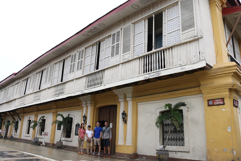 travel Vigan Ilocos Tour Sur Philippines tour tourism Syquia Mansion Elpidio Quirino
