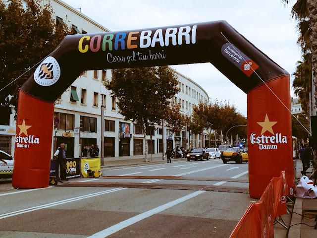 Arco de salida CORREBARRI 2015