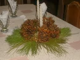 Christmas Centerpieces with Pineapples Part 1