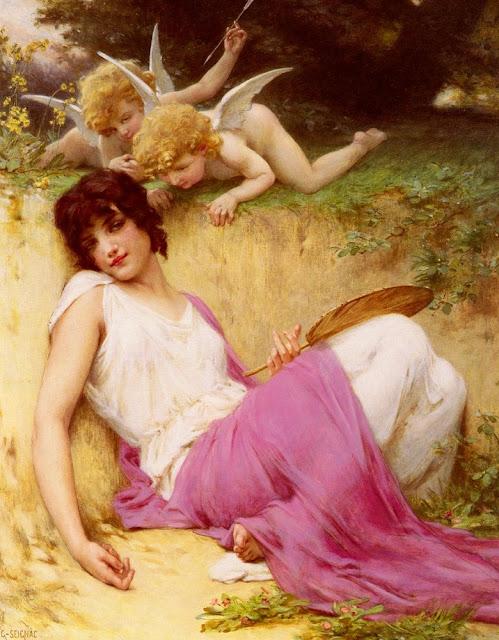 innocence,Guillaume Seignac,greek painting