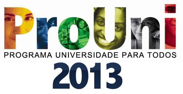 Prouni 2013, inscrições abertas