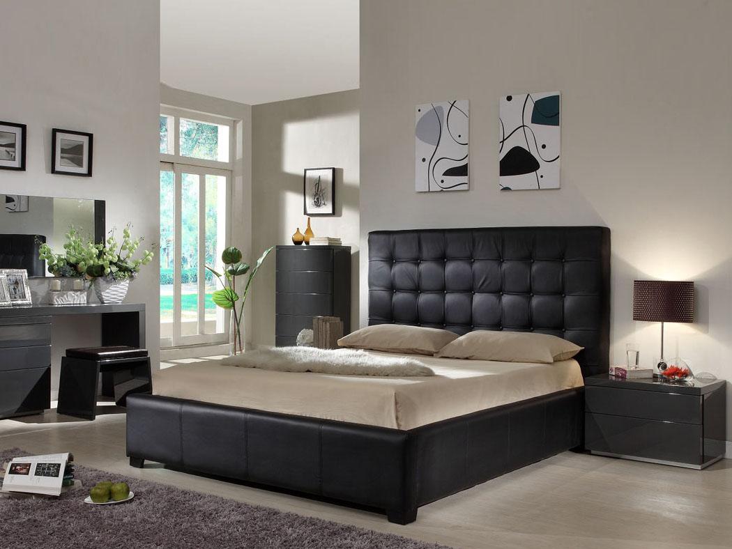 slaapkamer ideeen zwart bed  consenza for ., Meubels Ideeën