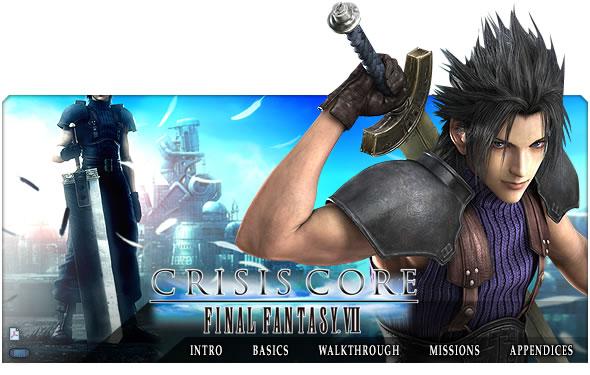 games Final Fantasy VII - Crisis Core Ppsspp / Psp