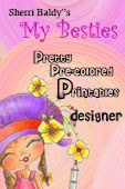 "I design for "" My Besties pretty pre-colored printables """