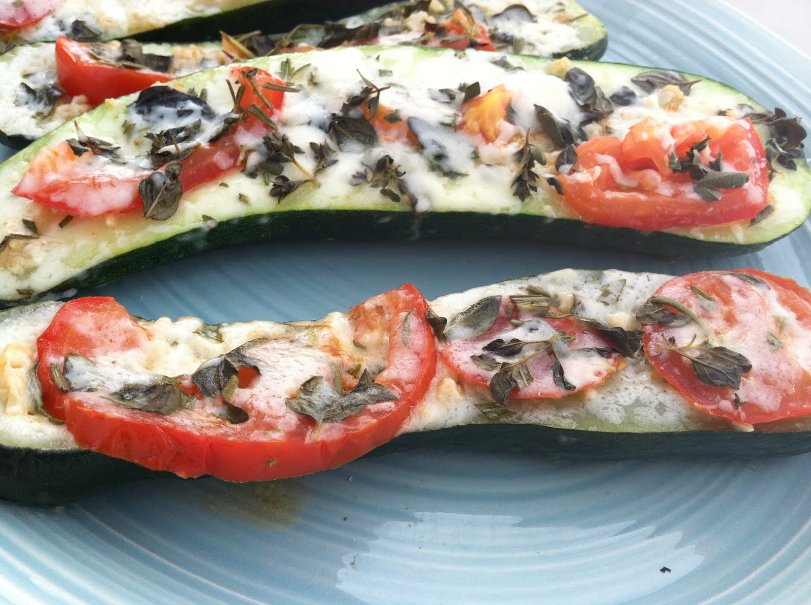 Produce Pantry: Italian Zucchini Boats