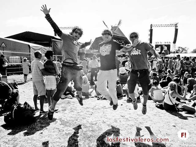 Festivaleros! en el Festival de Glastonbury 2013