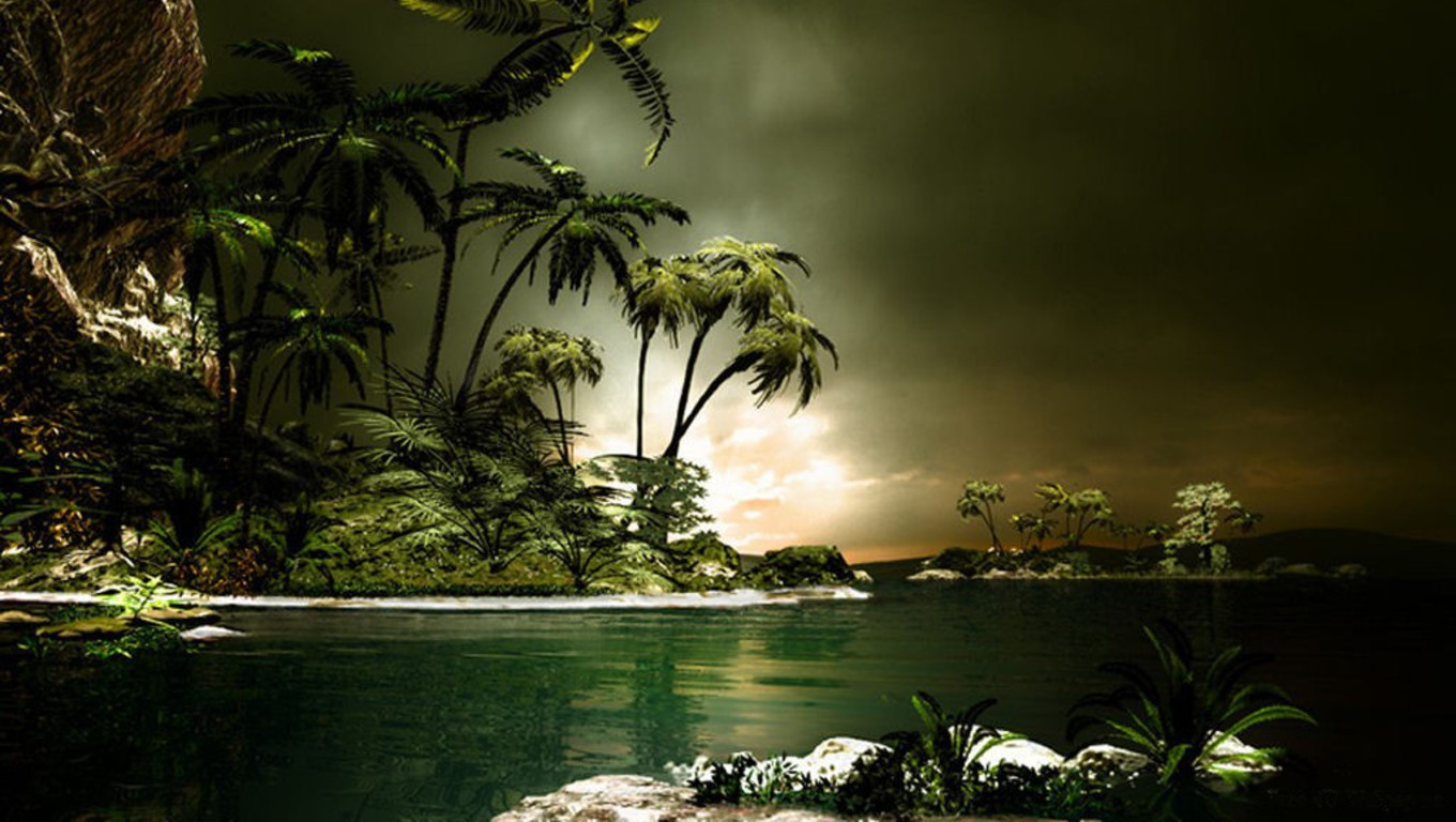 3d landscapes wallpapers 3d wallpapers for 3d outdoor wallpaper