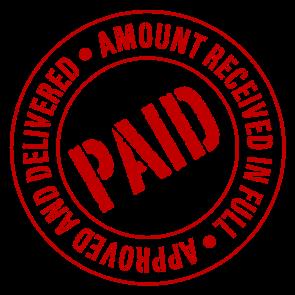 cash paid receipt