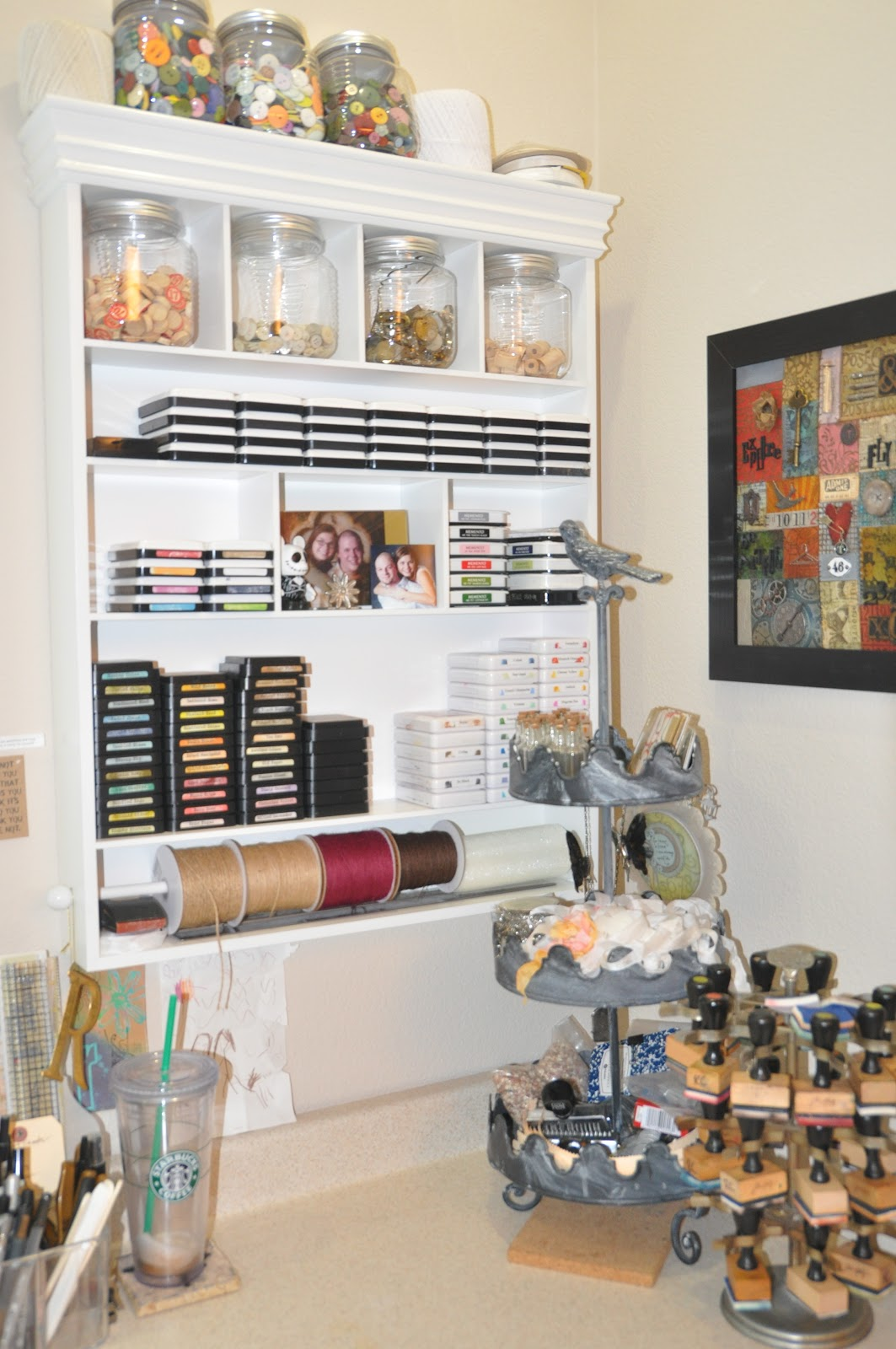 Richele Christensen My Studio And Getting Organized