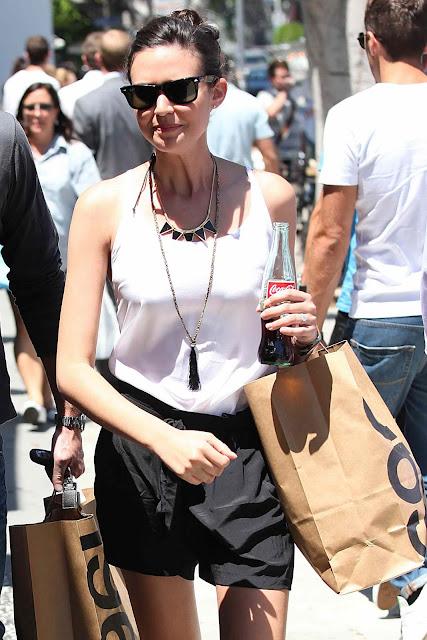 Odette Yustman in Los Angeles