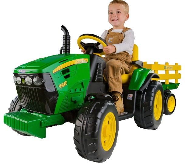Popular Types Ride On Toys For Kids : Ride on kids toys volt riding tractor peg perego