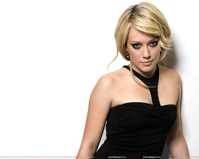 Hilary Duff HD Wallpaper in Black