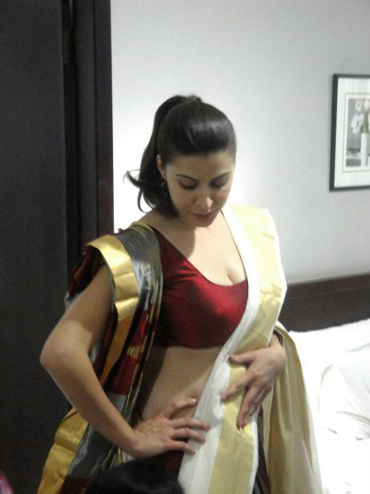 karishma kotak boobs in saree
