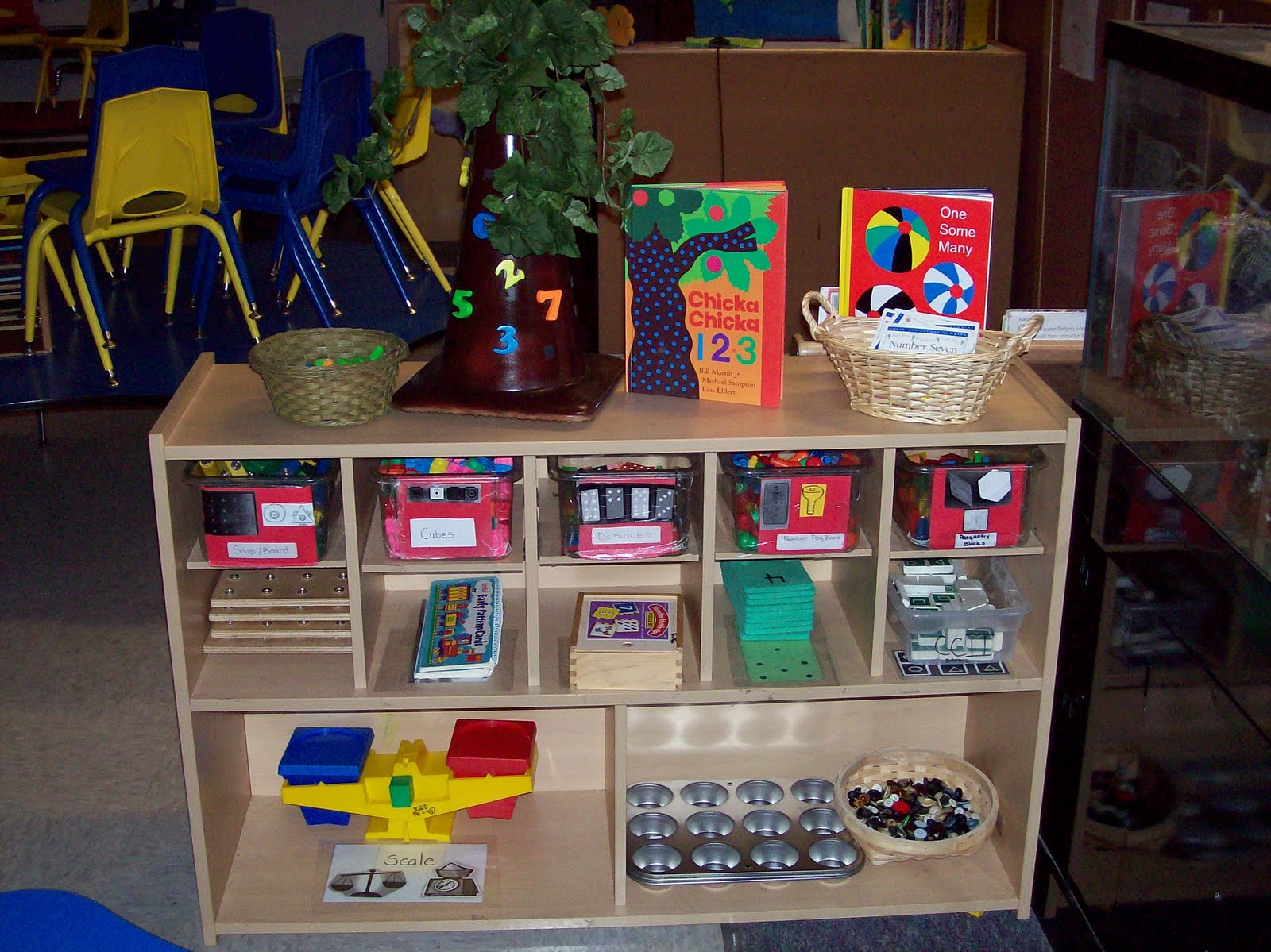 Preschool Classroom Math Center Ideas