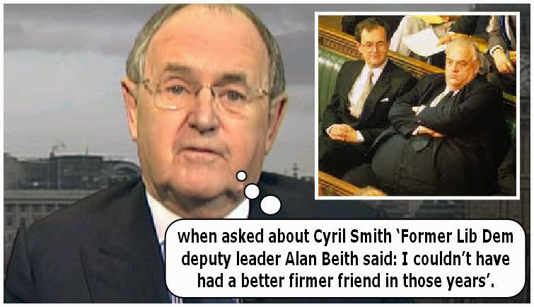 Squirming of the Lib Dems: Clegg and Co's claims that they knew nothing about Cyril Smith.