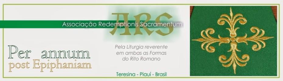 Associação Redemptionis Sacramentum