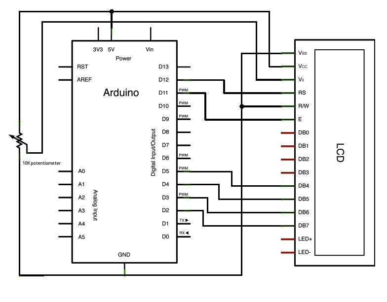 Conhecendo componentes eletronicos - Página 3 DisplayLCD+16x2+esquema