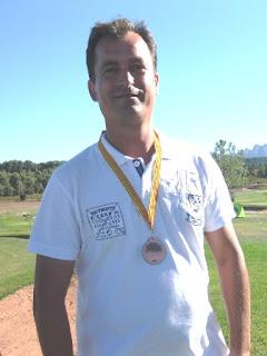 David Riera Campió CAtalunya Matxplay Pitch and Putt 2011