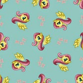 Fluttershy Fabric