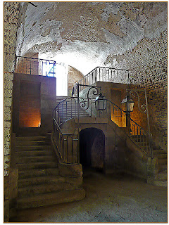 grand escalier des forges de Buffon