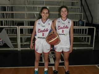 Pedrotti y Perez representan a Córdoba en el Nacional.