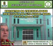 04 a 06.08.2017 - IPB DE CAPELA DO ALTO ALEGRE