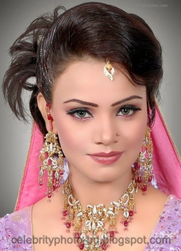 Pakistani+Wedding+Hairstyles+For+Bride+Girls+Photos+2014002