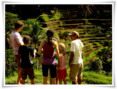 Bali Hai Bike Countryside Cycling Tour - Visiting  Tegallalang rice terraces