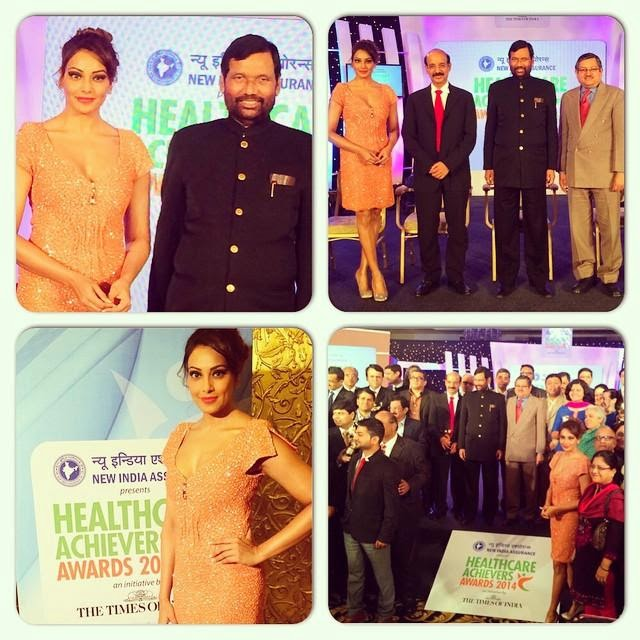 Bipasha Basu at the Health Care Achievers Awards-2014