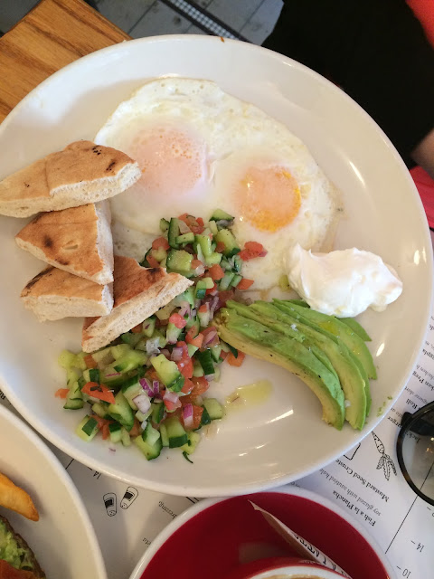 breakfast in manhattan best breakfast nyc brest brunch nyc new york city  give me some sugar i love you a latte jacks wife freda jack's wife freda  mediterranean breakfast avocado salad eggs