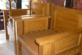 kursi minimalis modern bahan kayu