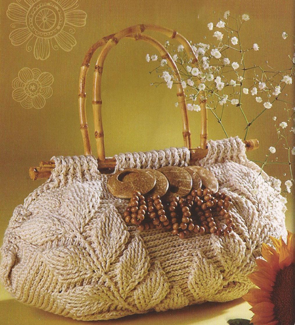 Cartera de hojas Tejido a Crochet Modelo 4 | Tejidos a Crochet con Edith