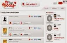 WatZatSong: permite descubrir online el nombre de canciones