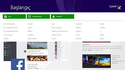 Windows 8.1 Yeni Mağaza