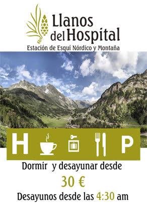 OFERTA LLANOS DEL HOSPITAL PARA JUNIO (Benasque)