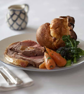 English Roast Beef and Yorkshire Pudding