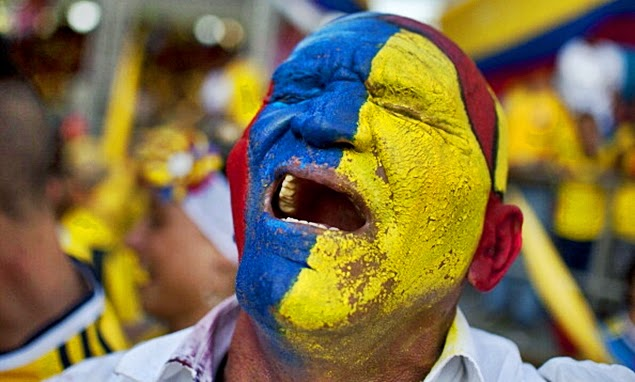 angry romanian fan