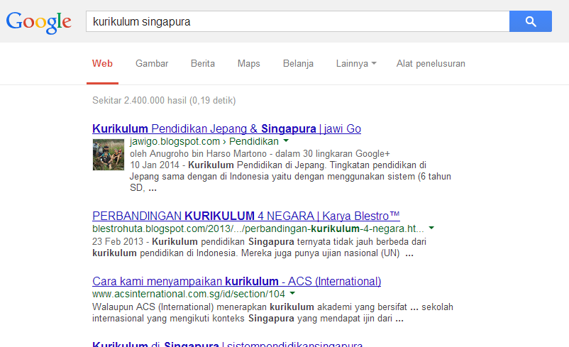 Template SEO Friendly Berpengaruh Terhadap Posisi Blog di Search Engine